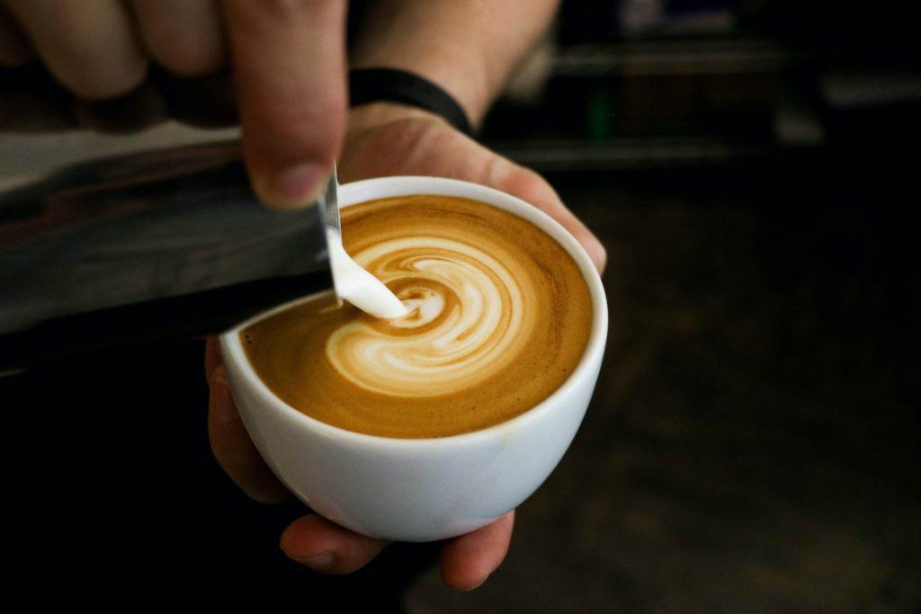Excellente koffie smaak